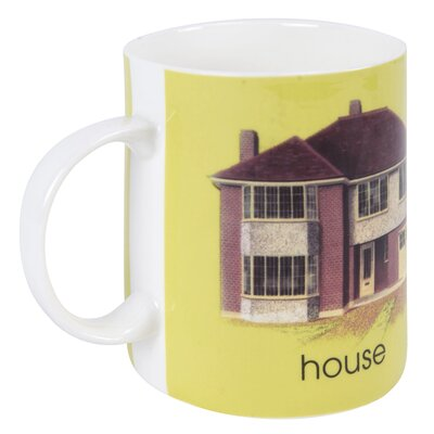 Designed in Colour Ladybird H-House Mug
