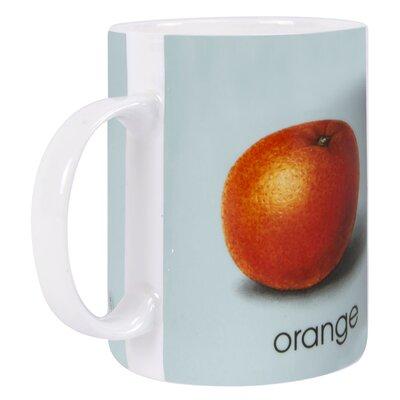 Designed in Colour Ladybird O-Orange Mug