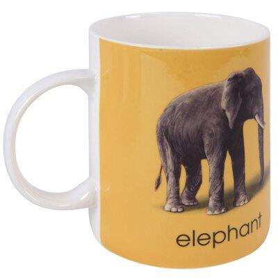 Designed in Colour Ladybird E-Elephant Mug