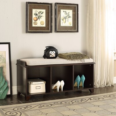Iseminger Wood Storage Bench