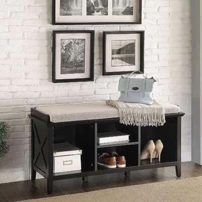 Callie Wood Storage Bench