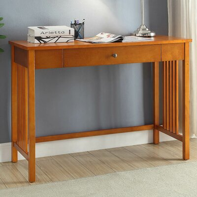 Newry Mission Desk Color: Mission oak