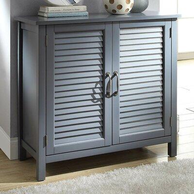 Dixfield 2 Door Accent Cabinet Color: Gray