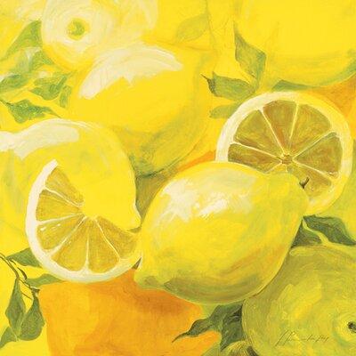 "DEInternationalGraphics ""Zitronen"" von Inna Panasenko, Kunstdruck"