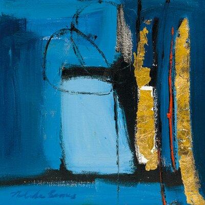 "DEInternationalGraphics ""Abstract Composition V"" von Natasha Barnes, Kunstdruck"