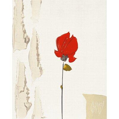 "DEInternationalGraphics ""La petite rose rouge"" von Christian Choisy, Kunstdruck"