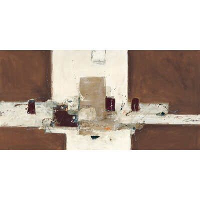 """DEInternationalGraphics """"Abstrakt VIII"""" von Ron van der Werf, Kunstdruck"""