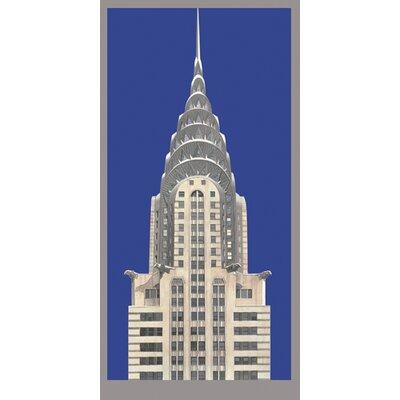 """DEInternationalGraphics """"Chrysler Building"""" von Richard Haas, Grafikdruck"""
