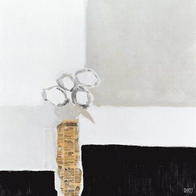 "DEInternationalGraphics ""Les roses blanches"" von Christian Choisy, Kunstdruck"