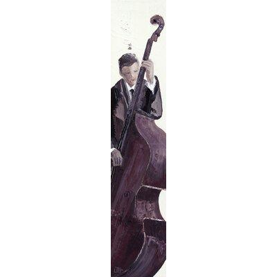 """DEInternationalGraphics """"Jazz Man II"""" von Bernard Ott, Kunstdruck"""