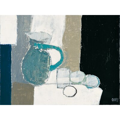 "DEInternationalGraphics ""Composition au pichet bleu"" von Christian Choisy, Kunstdruck"
