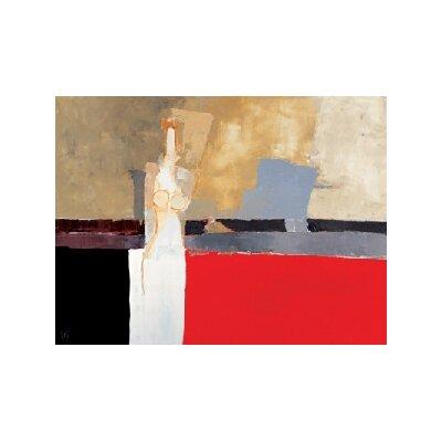 "DEInternationalGraphics ""Jeune fille en blanc"" von Christian Choisy, Kunstdruck"