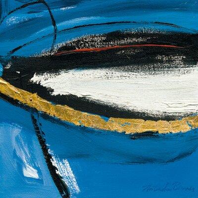 "DEInternationalGraphics ""Abstract Composition II"" von Natasha Barnes, Kunstdruck"