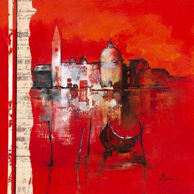 """DEInternationalGraphics """"Venise Reflets"""" von Annie Manero, Kunstdruck"""
