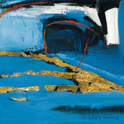 """DEInternationalGraphics """"Abstract Composition IV"""" von Natasha Barnes, Kunstdruck"""