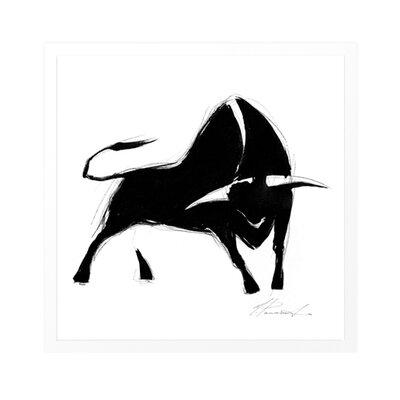 "DEInternationalGraphics ""La corrida II"" von Inna Panasenko, Kunstdruck"