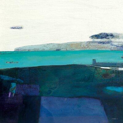 "DEInternationalGraphics ""Coastline at Killouan"" von Russell Frampton, Kunstdruck"