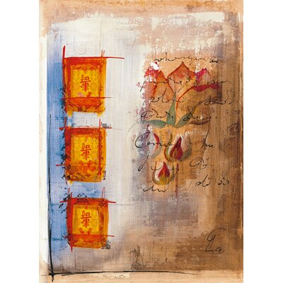 DEInternationalGraphics Oigas II Kunstdruck von Gemma Leys