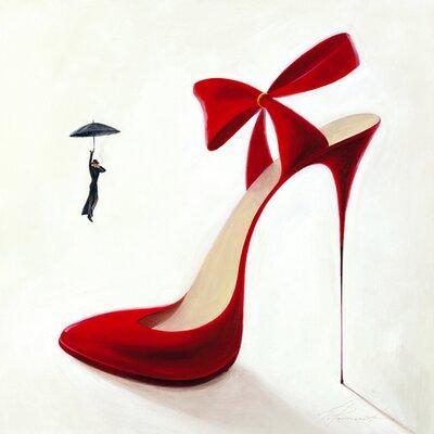 "DEInternationalGraphics Acrylglasbild ""Highheels-Obsession"" von Inna Panasenko, Kunstdruck"