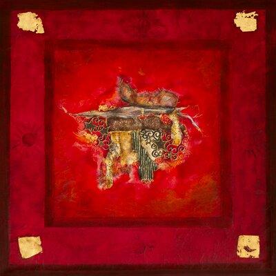 """DEInternationalGraphics """"Rouge baiser"""" von Lyne Perinciolo Duluc, Kunstdruck"""