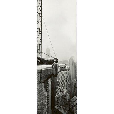 """DEInternationalGraphics """"Chrysler Building - Eagle"""" von Horst Hamann, Fotodruck"""