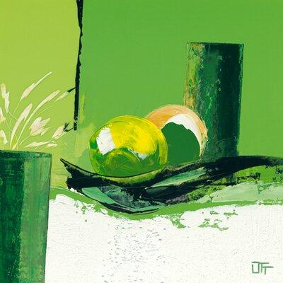 """DEInternationalGraphics """"Composition anisée"""" von Bernard Ott, Kunstdruck"""