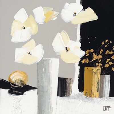 """DEInternationalGraphics """"Composition florale II"""" von Bernard Ott, Kunstdruck"""
