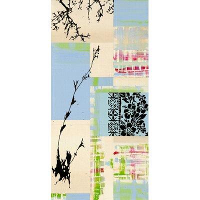 "DEInternationalGraphics ""Capsella bursa pastoris"" von Marie Madeleine Noiseux, Grafikdruck"