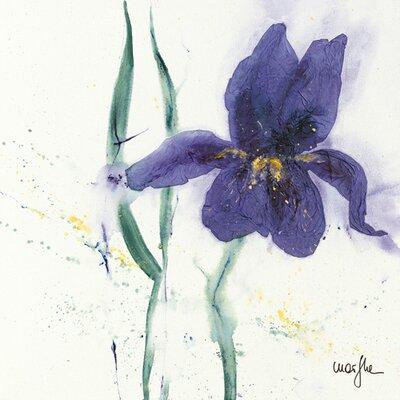 """DEInternationalGraphics """"Iris II"""" von Marthe, Kunstdruck"""