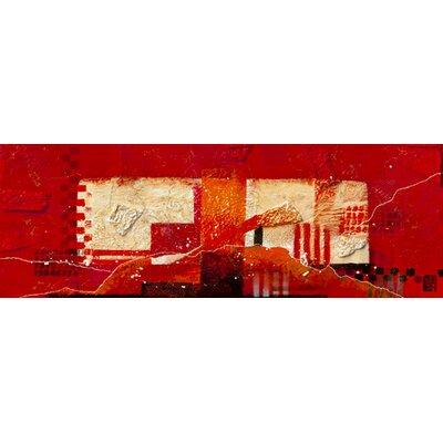 """DEInternationalGraphics """"Zt.200905 (red)"""" von Dinie Nomden, Kunstdruck"""