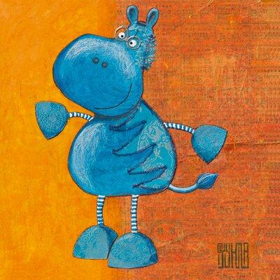 """DEInternationalGraphics """"Zibro"""" von Sushila Dahan, Kunstdruck"""