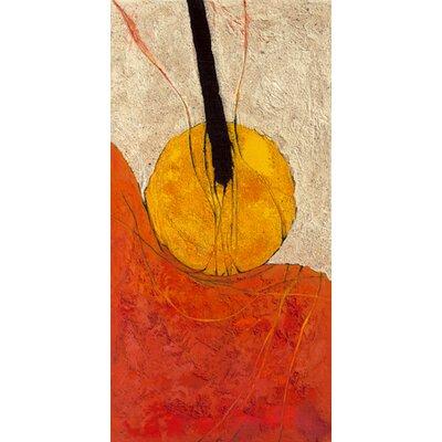 """DEInternationalGraphics """"Triptyque 222 B"""" von Rosita Oremek, Kunstdruck"""