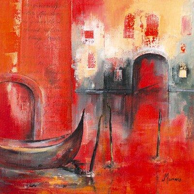 """DEInternationalGraphics """"Venise Mystérieuse I"""" von Annie Manero, Kunstdruck"""