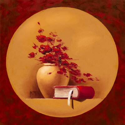 "DEInternationalGraphics ""Bouquet de fleurs II"" von Bernadette Triki, Kunstdruck"