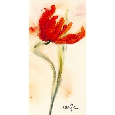 """DEInternationalGraphics """"Tulipe I"""" von Marthe, Kunstdruck"""