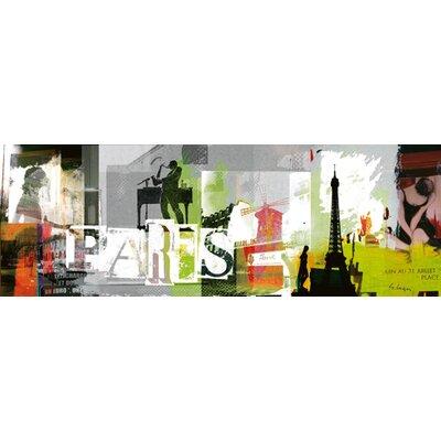 """DEInternationalGraphics """"Paris"""" von Gery Luger, Kunstdruck"""
