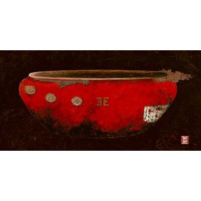 """DEInternationalGraphics """"Asian Vasque"""" von Diana Thiry, Kunstdruck"""