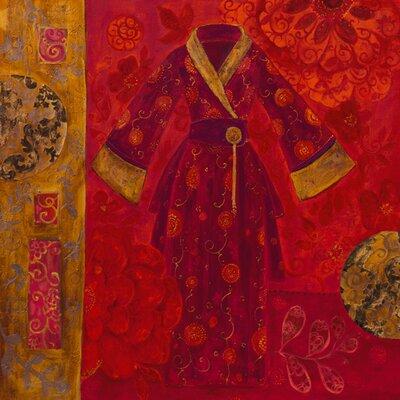 "DEInternationalGraphics ""Précieux Kimono"" von Loetitia Pillault, Kunstdruck"