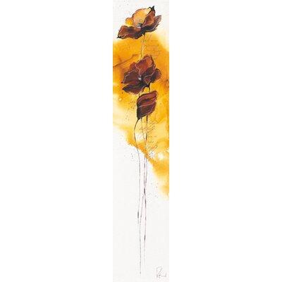 """DEInternationalGraphics """"Fleurs d´automne II"""" von Isabelle Zacher- Finet, Kunstdruck"""