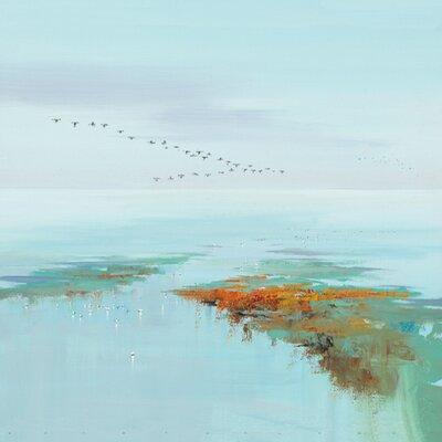 """DEInternationalGraphics """"Flying Birds"""" von Jan Groenhart, Kunstdruck"""