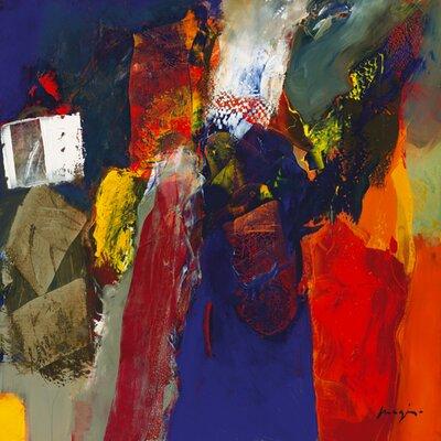 "DEInternationalGraphics ""Variations abstraites XVI"" von Pascal Magis, Kunstdruck"
