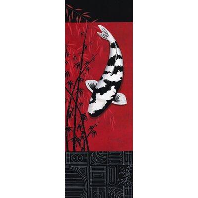 "DEInternationalGraphics ""Premium Shiro Utsuri"" von Nicole Gruhn, Kunstdruck"