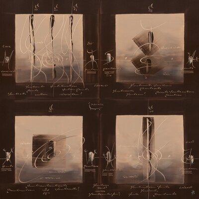 """DEInternationalGraphics """"Sens et non sens V"""" von Carole Bécam, Grafikdruck"""