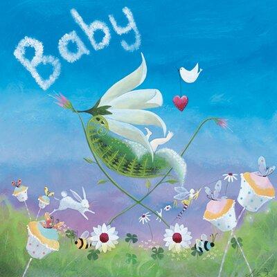 """DEInternationalGraphics """"Baby I"""" von Lorrie McFaul, Kunstdruck"""
