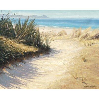 """DEInternationalGraphics """"Pathway to the Beach"""" von Caroline Atkinson, Fotodruck"""
