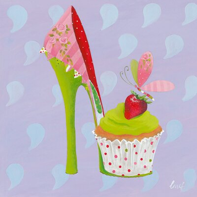 "DEInternationalGraphics ""Fairyshoes II"" von Lorrie McFaul, Kunstdruck"