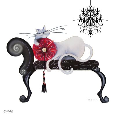 "DEInternationalGraphics Acrylglasbild ""Clarissa"" von Marilyn Robertson, Kunstdruck"
