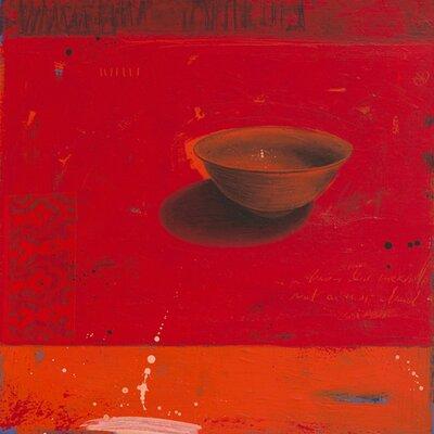 """DEInternationalGraphics """"Rouge ascendant"""" von Marylin Cavin, Kunstdruck"""