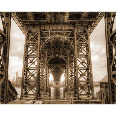 """DEInternationalGraphics """"Under the Bridge"""" von Aurélien Terrible, Fotodruck"""