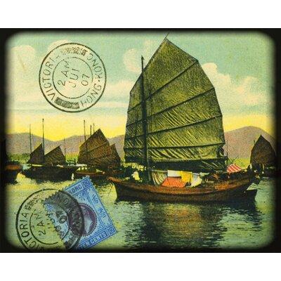 """DEInternationalGraphics """"Hong Kong"""" von Gwenaëlle Trolez, Fotodruck"""